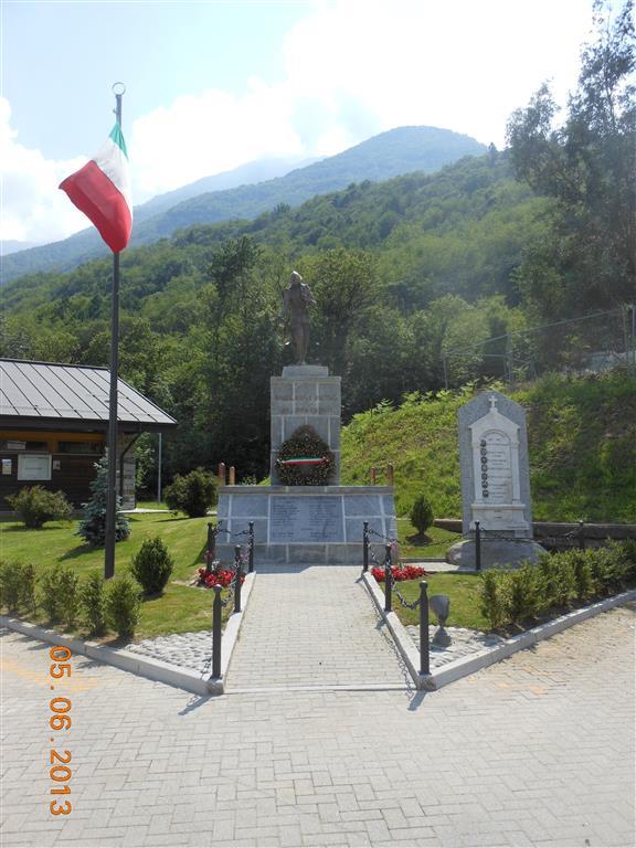 Samolaco-Monumento Alpino